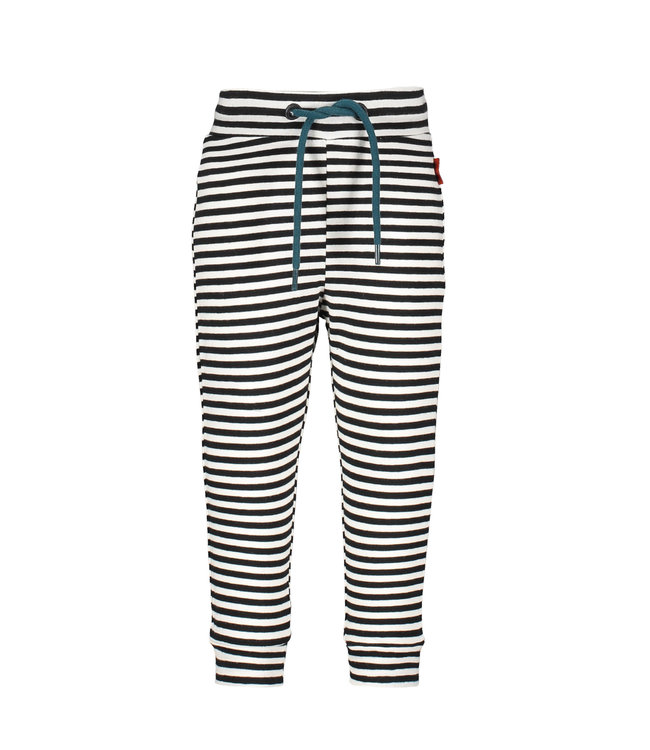 "Bampidano Broek Calden antraciet stripe "" Traffic """
