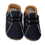 Baby Dutch Slofjes denim Cognac