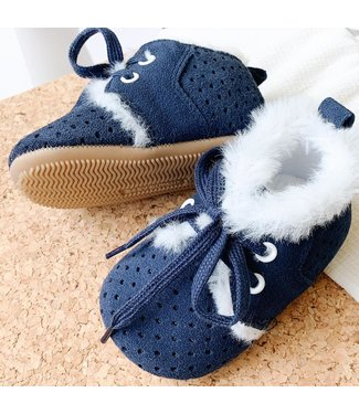 Baby Dutch Winter boot blue
