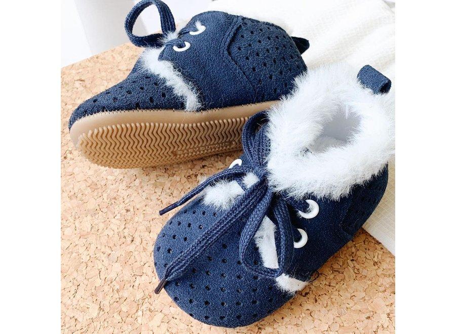 Winter boot blue