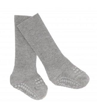 Go baby go Anti slip sokken grijs