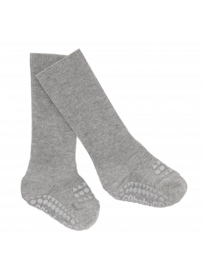 Anti slip sokken grijs