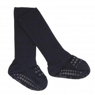 Go baby go Anti slip sokken blauw