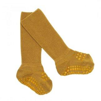 Go baby go Anti slip sokken geel