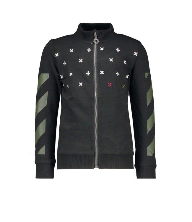 B.nosy Vest Zwart Hero