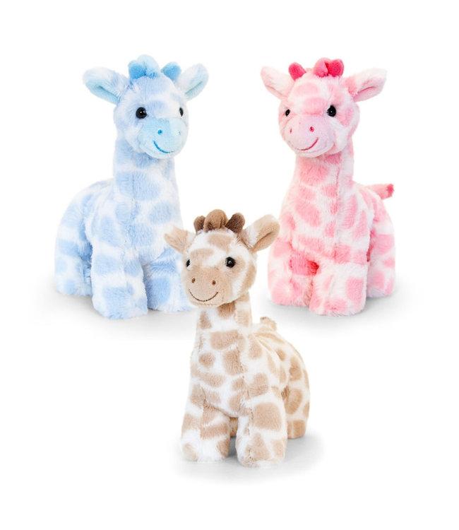 Soft Touch Knuffel giraf 18 cm