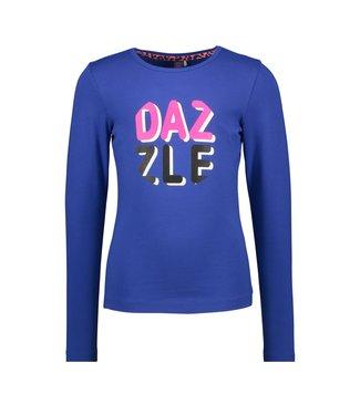 B.nosy Shirt Artwork Kobalt blauw - Dazzled