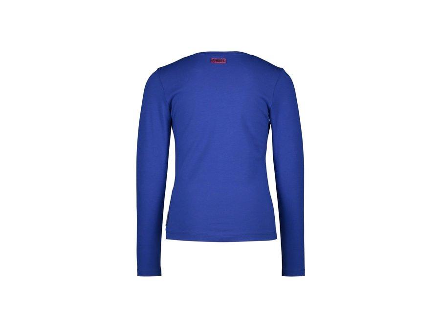 Shirt Artwork Kobalt blauw - Dazzled