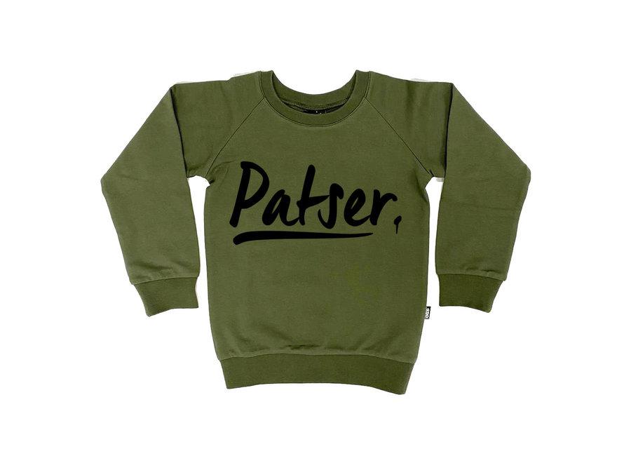 Sweater patser khaki