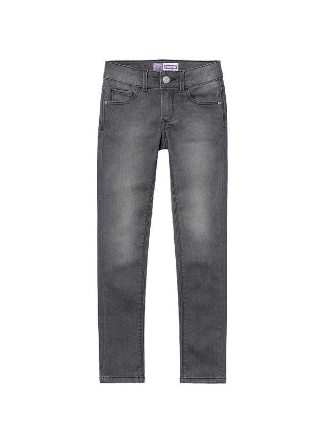 Spijkerbroek Adelaide Dark Grey