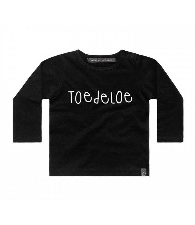 Your Wishes Shirt zwart Toedelou
