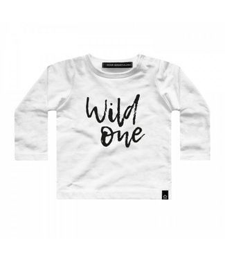 Your Wishes T-shirt Wild one offwhite