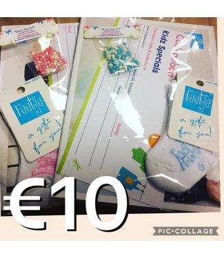 Kidz Specials Cadeaubon €10