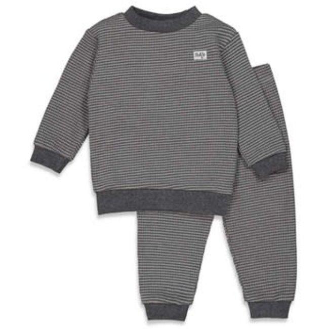 Feetje-baby Pyjama wafel Antraciet Autumn Special
