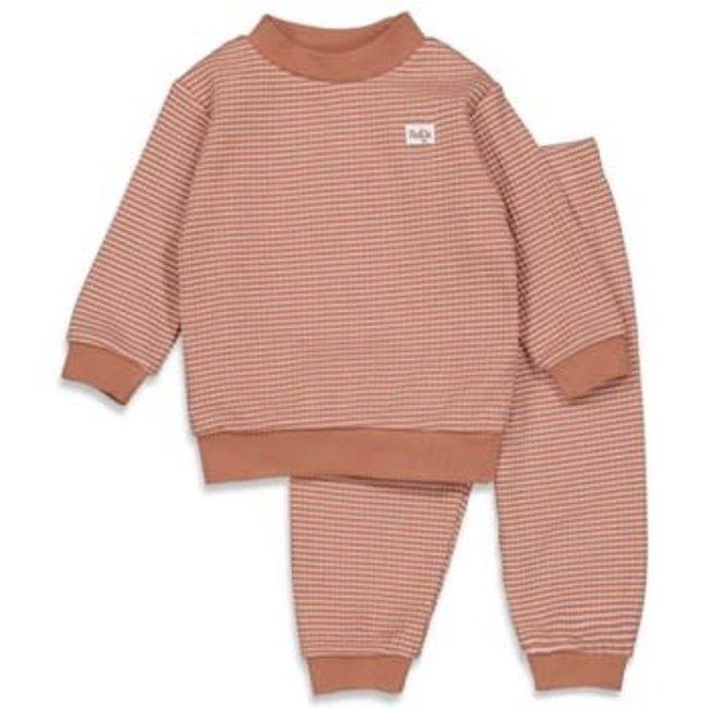 Feetje-baby Pyjama wafel Hazelnoot Autumn Special