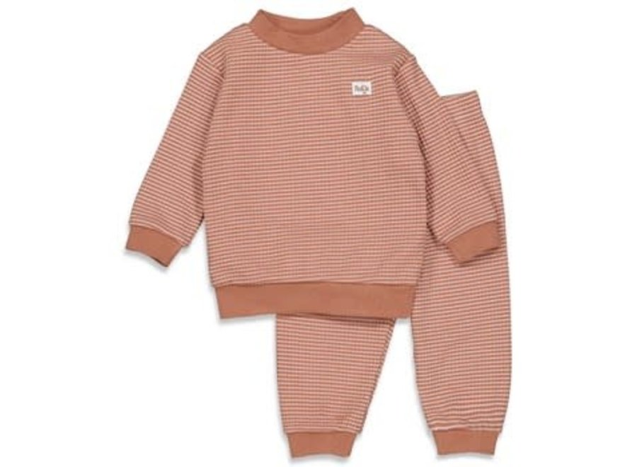 Wafel pyjama Hazelnoot Autumn Special