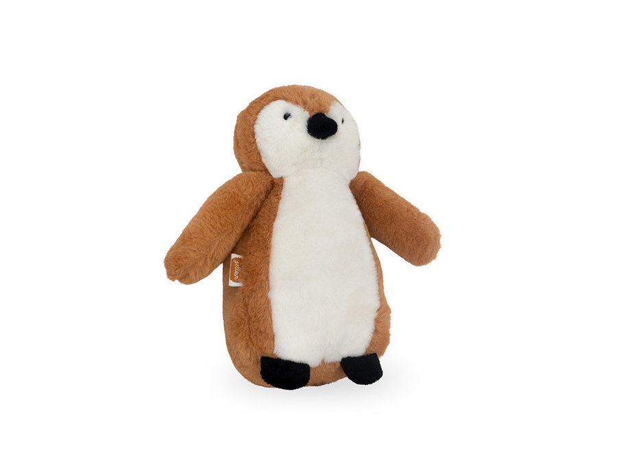 Knuffel Pinguin camel of grey