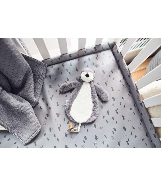 Jollein Speendoekje Pinguin Camel of grey