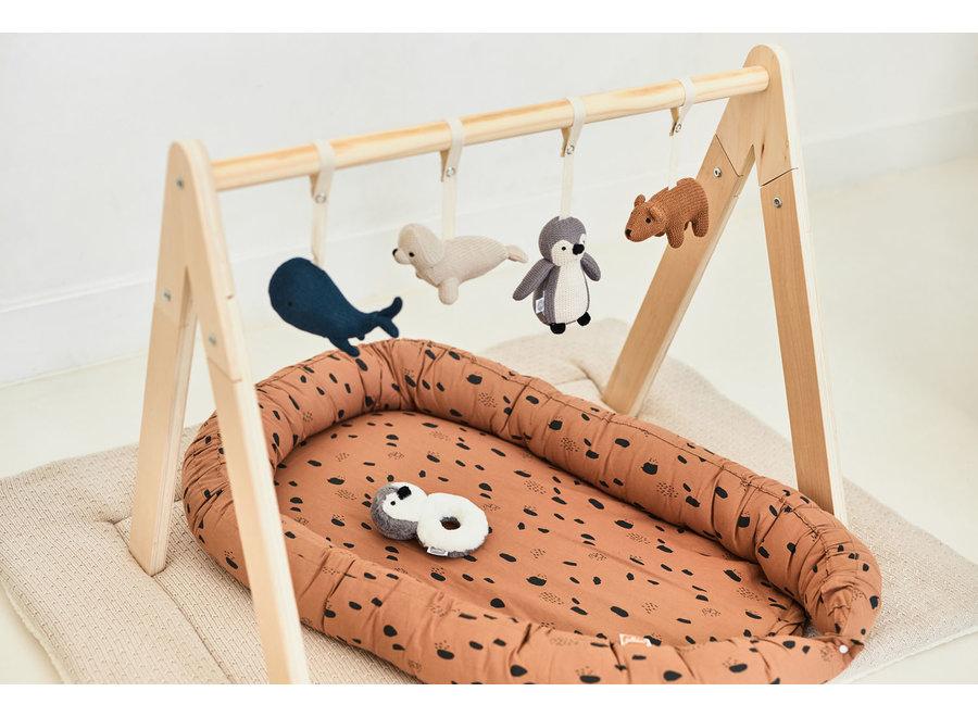 Babygym Toys 4 stuks Polar en Lama