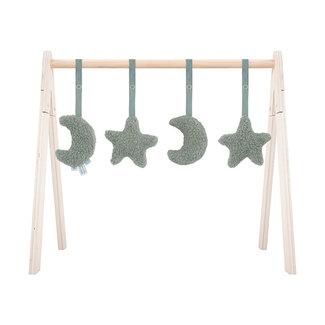 Jollein Babygym  Toys Moon 4 stuks 2 kleuren