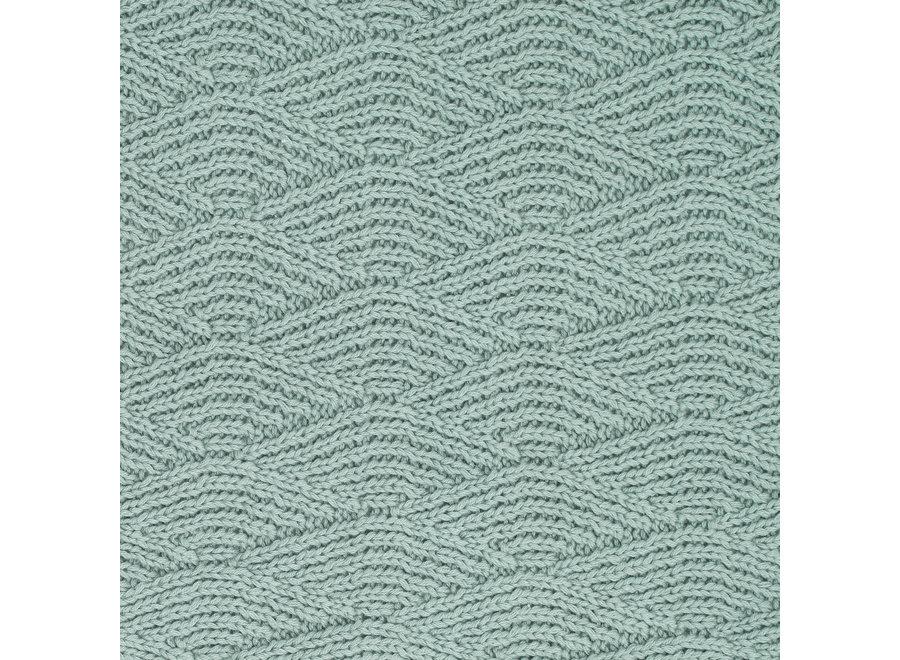 Wieg Deken  River Knit 75x100cm  3 kleuren