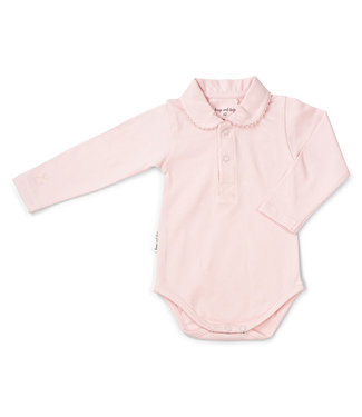 Frogs and Dogs Polo Romper Frogs&Dogs Pink