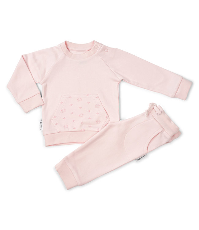 Frogs and Dogs Jogging Suit Frogs&Dogs Pink