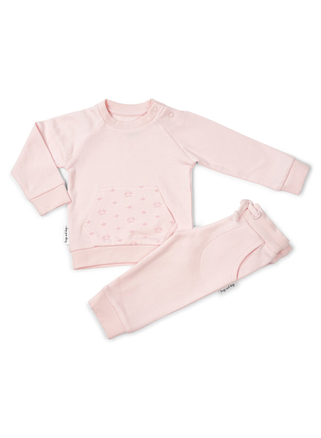Jogging Suit Frogs&Dogs Pink