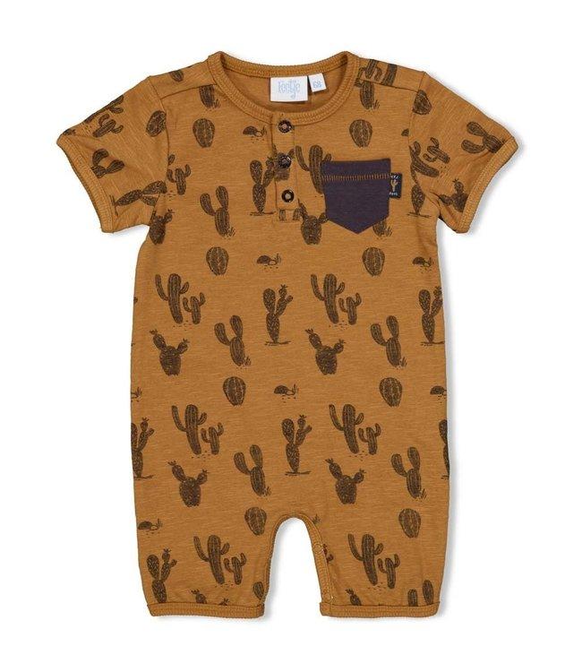 Feetje-baby Kort pakje - Looking Sharp -Camel