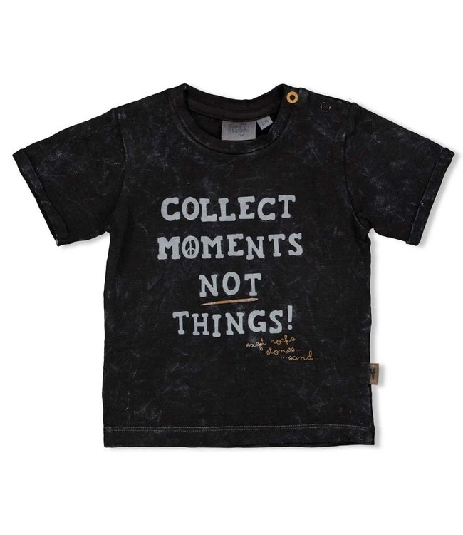 Feetje-baby T-shirt Moments - Looking Sharp - Antraciet