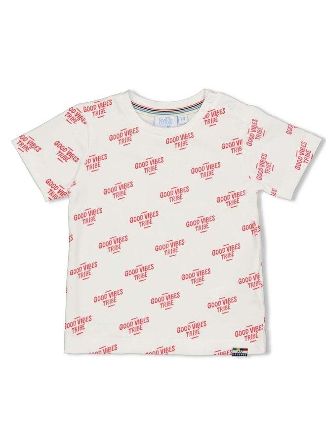 T-shirt Fast - Playground - Wit