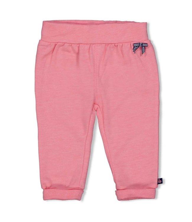 Feetje-baby Broek - Seaside Kisses - Roze