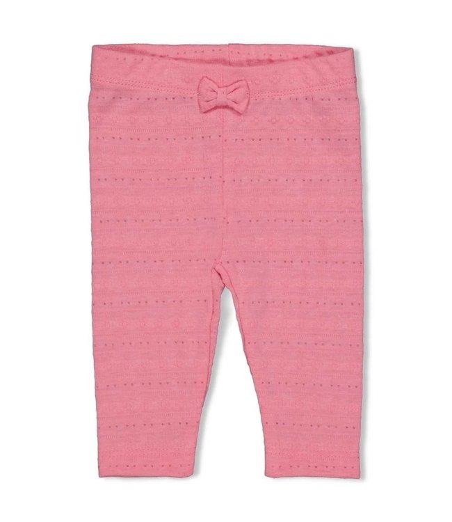 Feetje-baby Legging AOP - Seaside Kisses - Roze