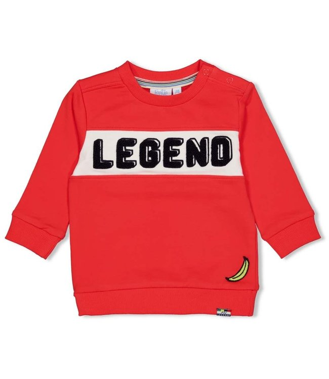 Feetje-baby Sweater - Playground - Rood