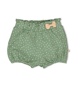 Feetje-baby Short AOP - Hearts - Groen