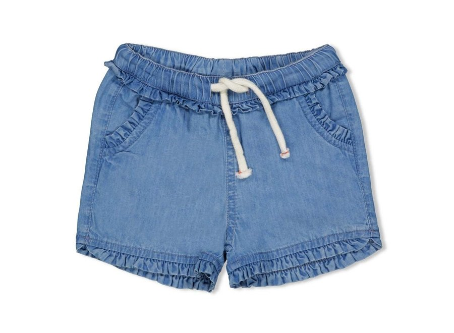 Short - Summer Denims - Blue denim