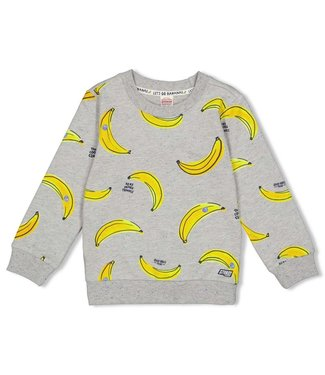 Sturdy Sweater AOP - Playground - Grijs melange