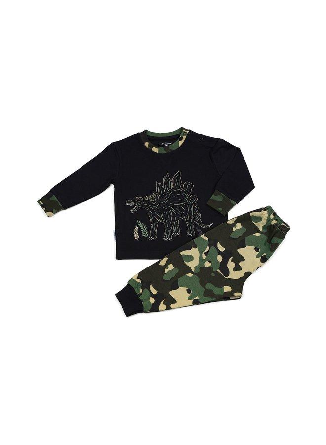Pyjama black dino
