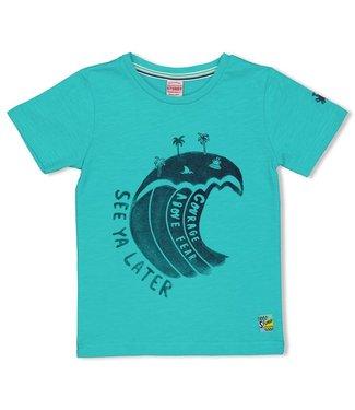 Sturdy T-shirt Wild One - Smile & Wave - Mint