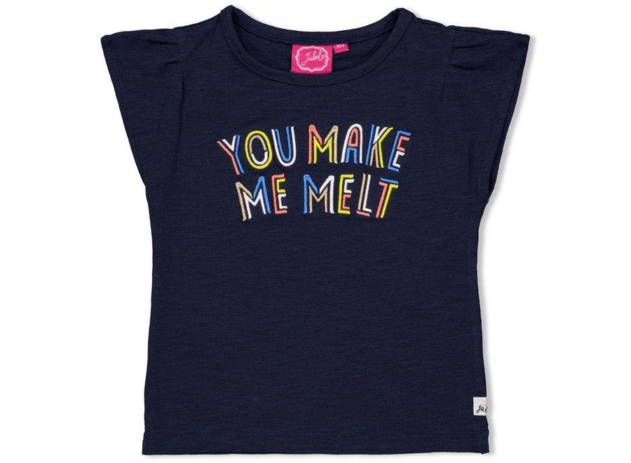 T-shirt Melt - Sweet Gelato - Marine
