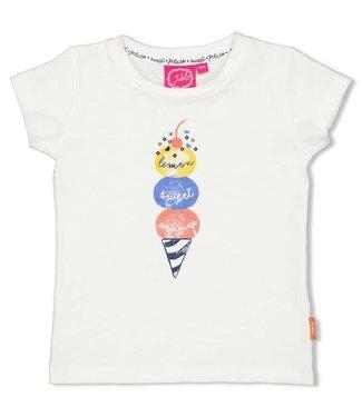 Jubel T-shirt - Sweet Gelato - Offwhite