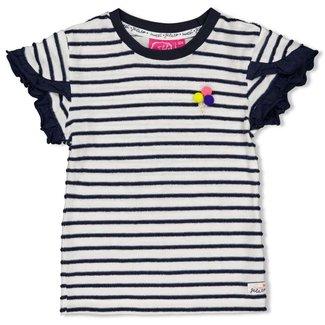 Jubel T-shirt streep - Sweet Gelato - Marine