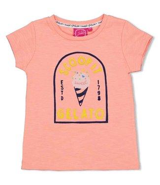 Jubel T-shirt Gelato - Sweet Gelato - Koraal