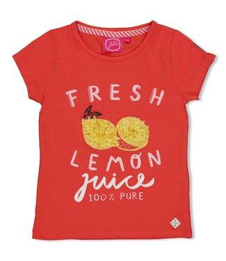 Jubel T-shirt Fresh - Tutti Frutti - Koraal