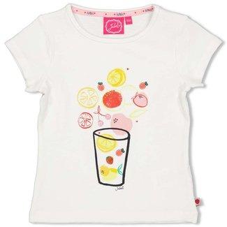 Jubel T-shirt - Tutti Frutti - Wit