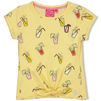 Jubel T-shirt AOP - Tutti Frutti - Geel
