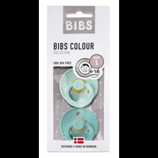 BIBS Bibs verpakt per 2 Maat 1 ( 0/6 maanden )