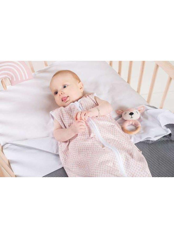 Baby Slaapzak Jersey Snake - Pale Pink