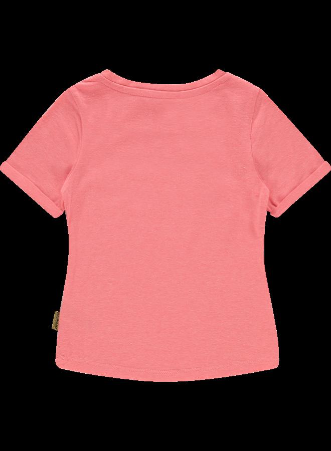 T-shirt Hille - Flu Red