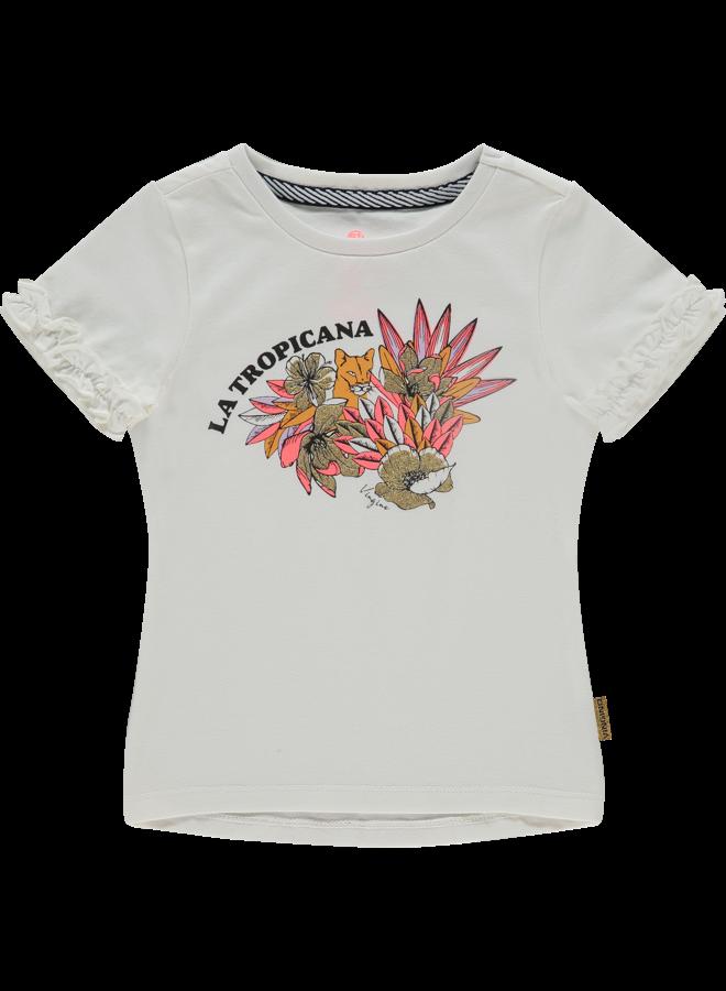 T-shirt Hieke - Off White
